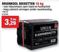 Bruinkool briketten-Union
