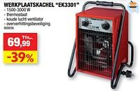 Eurom werkplaatskachel ek3301-Eurom
