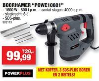 Powerplus boorhamer powe10081-Powerplus