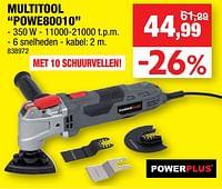 Powerplus multitool powe80010-Powerplus