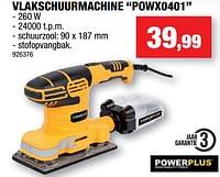 Powerplus vlakschuurmachine powx0401-Powerplus