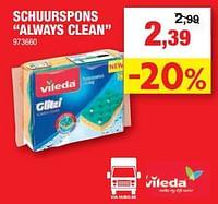 Schuurspons always clean-Vileda