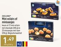 Mini-eclairs of minisoesjes-Excellence