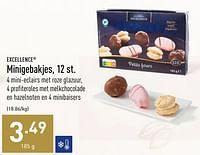 Minigebakjes-Excellence