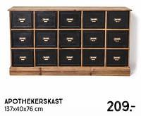 Apothekerskast-Huismerk - Xenos