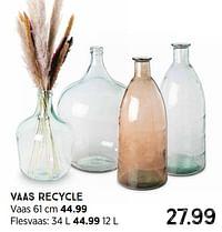 Vaas recycle flesvaas-Huismerk - Xenos