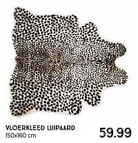 Vloerkleed luipaard-Huismerk - Xenos
