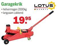 Garagekrik-Lotus Geräte
