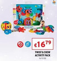 Twist + chew activity pack-Playgro