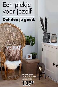 Opbergpoef-Huismerk - Wibra