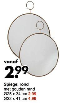 Spiegel rond-Huismerk - Wibra