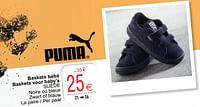 Baskets bébé baskets voor baby's suède-Puma
