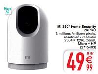 Xiaomi Mi 360° home security 2kpro-Xiaomi