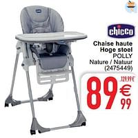 Chaise haute hoge stoel polly-Chicco