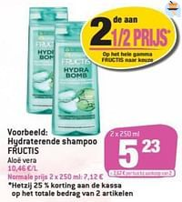 Hydraterende shampoo fructis-Garnier