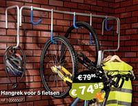 Hangrek voor 5 fietsen-Mottez