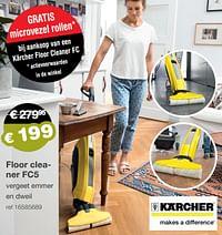 Kärcher floor cleaner fc5-Kärcher
