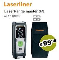 Laserrange master gi3-LaserLiner