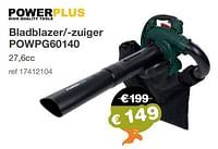 Powerplus bladblazer--zuiger powpg60140-Powerplus