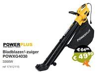 Powerplus bladblazer--zuiger powxg4038-Powerplus