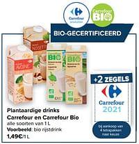 Bio rijstdrink-Huismerk - Carrefour