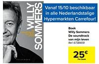 Boek willy sommers de soundtrack van mijn leven-Huismerk - Carrefour