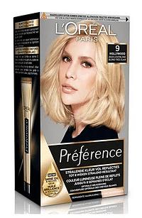 L'Oréal Paris Preference 9 Hollywood Zeer Lichtblond-Paris
