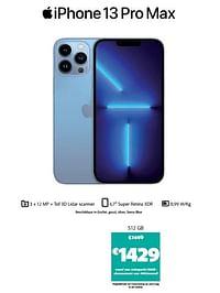 Apple iphone 13 pro max 512 gb-Apple