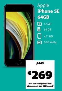 Apple iphone se 64gb-Apple