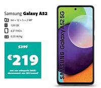 Samsung galaxy a52-Samsung