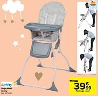 Hoge stoel keeny-Safety 1st
