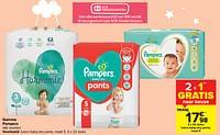 Luiers baby-dry pants-Pampers