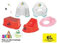 Potje wc-zitje of opstapje-Huismerk - Carrefour
