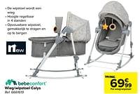Wieg-wipstoel calys-Bébéconfort