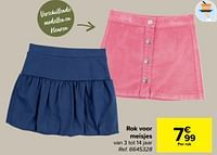 Rok voor meisjes-Huismerk - Carrefour