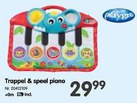 Trappel + speel piano-Playgro