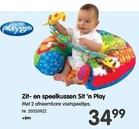 Zit- en speelkussen sit 'n play-Playgro