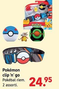 Pokémon clip `n` go-Pokemon