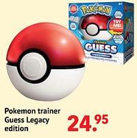 Pokemon trainer guess legacy edition-Pokemon