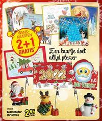 Kaarthouder christmas-Huismerk - Happyland
