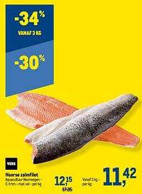Noorse zalmfilet-Huismerk - Makro