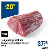 Tonijnhaasje sashimi-Huismerk - Makro