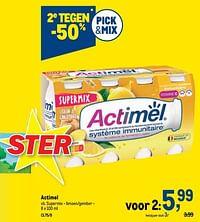 Actimel supermix - limoen-gember-Danone