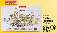 Fineliner brushpen-Bruynzeel