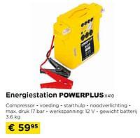 Energiestation powerplus x410-Powerplus