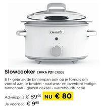 Slowcooker crock-pot cr038-Crock-Pot