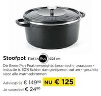 Stoofpot-Greenpan