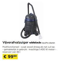 Vijverafvalzuiger ubbink vacupro cleaner-Ubbink
