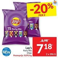 Lay`s party mix chips-Lay
