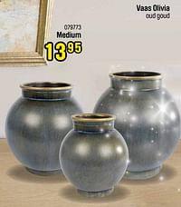Vaas olivia medium-Huismerk - Happyland